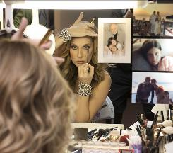Her diva side: But the mom side of Celine Dion is always present, too, as is evident in Celine: Through the Eyes of the World, which will have a limited release in theaters next spring.