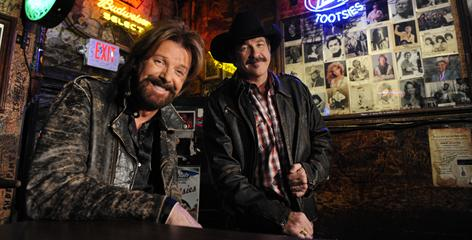 Final roundup: Ronnie Dunn, left, and Kix Brooks plan to end their long and successful career as a duo in 2010 with the Last Rodeo concert tour.