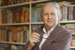 Alexander McCall Smith, best known for The No. One Ladies' Detective Agency series, has five series running.