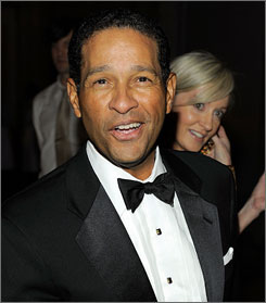 Bryant Gumbel revealed his condition to Kelly Ripa while he was subbing for co-host Regis Philbin on Live With Regis and Kelly on Tuesday.