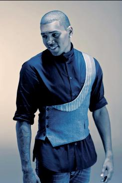 Chris Brown seems to be trying to rehab his image in his new CD.