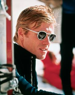 A pre-Kid Robert: Redford was uncharacteristically surly in 1969's Downhill Racer.