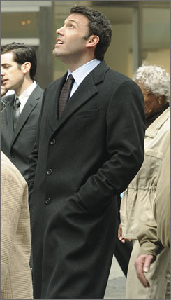 Ben Affleck, shown here in the movie, The Company Men, has starred in films such as Good Will Hunting, Armageddon and State of Play.