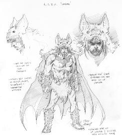 "Character sketches from the upcoming DC Comics series ""The Return of Bruce Wayne,"" available Summer 2010."
