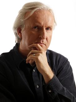 In control: Director James Cameron crafted every detail of Avatar, his first film since Titanic.