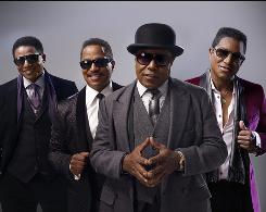 """A chance to be ourselves"": The Jack5ons follows Jackie, left, Marlon, Tito and Jermaine Jackson. Michael had never planned to appear."