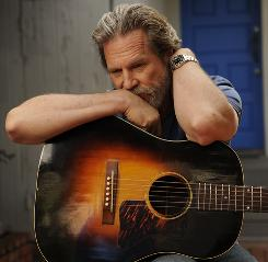 Jeff Bridges plays a hard-drinking country-western singer in Crazy Heart, out Wednesday. His only other musical role was as a pianist in The Fabulous Baker Boys in 1989.