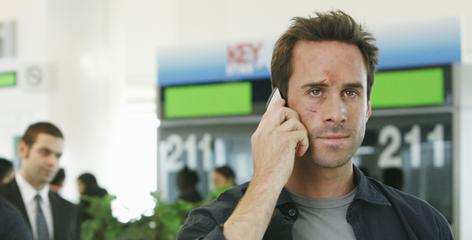 Snap out of it: Joseph Fiennes' somnambulant FBI agent Mark Benford on FlashForward needs a wake-up call  or a new job.