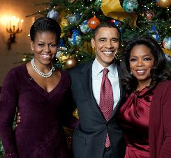 Christmas at the White House, featuring President Obama and first lady Michelle Obama being interviewed by Oprah Winfrey, drew 12 million viewers last week.