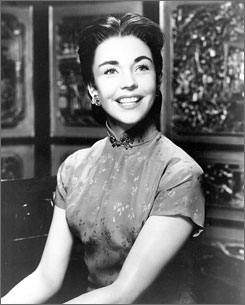 Jennifer Jones, who died Thursday at the age of 90,  starred in  films such as Love Is a Many Splendored Thing.