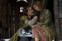 Heath Ledger, in his last role, stars as the mysterious Tony. Lily Cole plays Valentina.