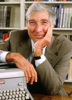 John Updike:  Died on Jan. 27, at age 76.