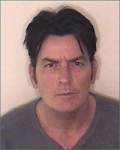Charlie Sheen was booked for second-degree assault on Christmas Day.