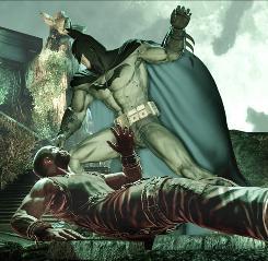 Good storyteller: The narrative in Batman: Arkham Asylum showed complexity.