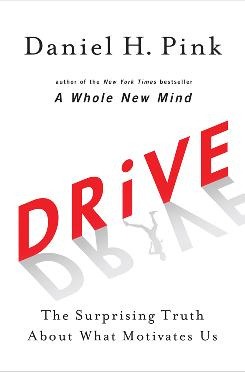 "Daniel Pink's new book, Drive, is an example of a different kind of self-help book, one in which people can find the ""serious answers"" they seek, Pink says."