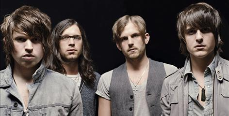 Single of the year: Cousin Matthew Followill, left, and brothers Nathan, Caleb and Jared Followill make up Kings of Leon.