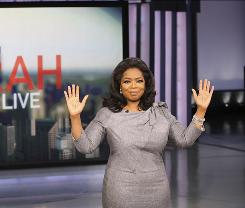 Oprah Winfrey announces that her daytime show will end its run after 25 seasons.