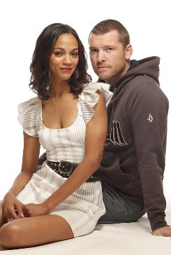Two bolts from the blue: Zoe Saldana and Sam Worthington are the latest unheralded stars to get a big career boost from a James Cameron blockbuster, joining the likes of Leonardo DiCaprio and Kate Winslet.