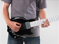 The You Rock Guitar controller, which works with Guitar Hero and Rock Band, is also a fully functioning guitar.