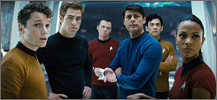 Star Trek is up against The Hurt Locker and  Up in the Air for top dramatic honors from the American Cinema Editors.