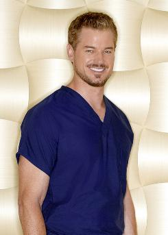 Paging Dr. Sloan: On Grey's Anatomy, Eric Dane is about to become a grandfather. In real life, he's soon to be a dad.
