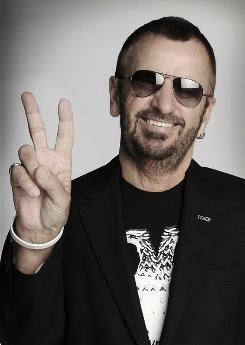 Fab friends to this day: Ringo Starr, who turns 70 on July 7, has a new solo album, Y Not, out this week. The only other living Beatle, Paul McCartney, plays bass on Peace Dream and sings harmony on Walk With You.