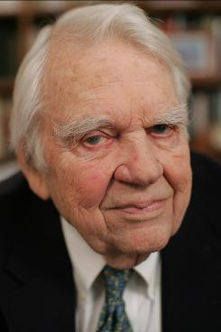 "Keeps on ticking: ""I'll know when I can't do this anymore,"" Andy Rooney says. His 16th book is out now."