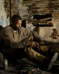 Existing in a demolished world, Eli (Denzel Washington) keeps to himself. When he's challenged, his machete does the talking for him.
