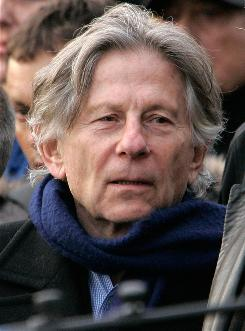 Fighting extradition: Polanski is under house arrest after being taken into custody in September.