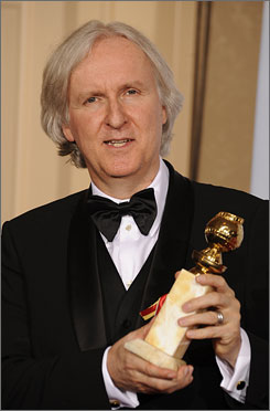 The Golden Globes crowned James Cameron in the directing category and named Avatar best drama.