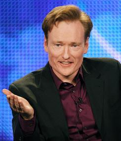 Odd man out: Conan O'Brien is not long for the Tonight Show.