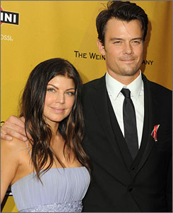 """It was my first night at the Golden Globes. It was a very nice date. I love supporting the film. I loved seeing the speeches,"" Fergie said, days after renewing her wedding vows with Josh Duhamel."