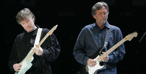 Steve Winwood and Eric Clapton are up for rock performance by a duo or group for Live From Madison Square Garden.