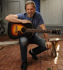 His singing is not an act: Jeff Bridges, who stars in Crazy Heart, also sings some songs on the soundtrack.