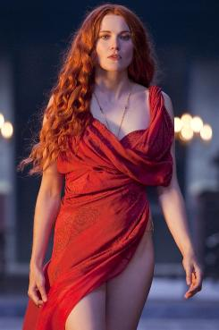 Spartacus: Blood and Sand: Lucy Lawless stars as Lucretia in Starz's sexually explicit new series, set during the Roman Empire.