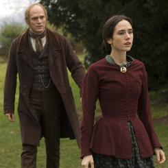 Paul Bettany plays Charles Darwin, whose theory of evolution creates conflict with his religious wife, Emma (Jennifer Connelly).