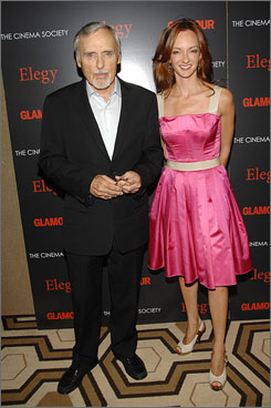 Victoria Hooper, shown with actor Dennis Hopper in 2008, wants full custody of their young daughter.