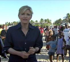 """Soul-searing heartbreak"": That's what Diane Sawyer says she found during her two days in Port-au-Prince, Haiti."