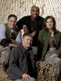 Meet 4Troops: Clockwise from left, David Clemo, Ron Henry, Meredith Melcher and Daniels Jens. They're all former soldiers.