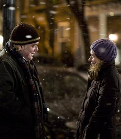 Philip Seymour Hoffman directs and stars in Jack Goes Boating, an offbeat romantic comedy about Jack, a New York limo driver, who courts Connie, a funeral parlor worker played by Amy Ryan.