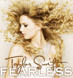 Taylor Swift's Fearless is the favorite to win the Grammy for album of the year.
