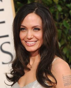 Angelina Jolie was No. 1 on the Celebrity Heat Index for the month of January.