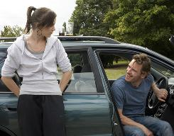 Katie Jarvis and Michael Fassbender star in Fish Tank.