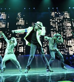In rehearsals: This Is It has footage of Michael Jackson on the stage preparing for the London concerts that were not to be.