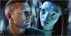 As expected, Avatar (with Sam Worthington and Zoe Saldana) and The Hurt Locker will battle at the Academy Awards on March 7.