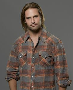 """Josh Holloway, sex symbol? """"My wife laughs at that,"""" the Lost star says."""