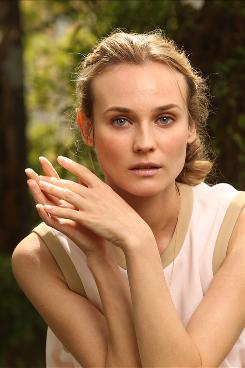 Diane Kruger stars as a duplicitous German actress in Inglourious Basterds, a film about a band of Jewish-American soldiers out to get their revenge on the Nazis.