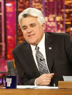 Jay Leno hasn't been shy about expressing sour grapes as he leaves prime time and returns to Tonight.