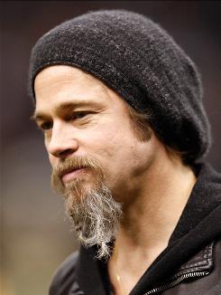 Brad Pitt is ready to play the hirsute explorer Percy Fawcett.
