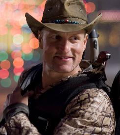 Zombieland: Woody Harrelson stars as a gleeful slayer of the undead.